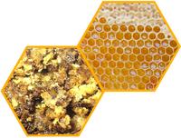 Сотовый мёд и забрус