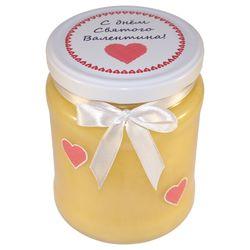 Подарочная баночка мёда к 14 февраля №4