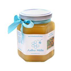 Мёд из лугового разнотравья №7, 275г (200мл)