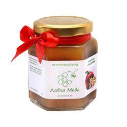Яблочно-акациевый мёд №8, 275г (200мл)