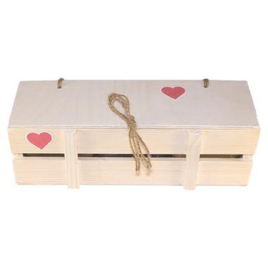 Деревянный ящик с мёдом к 14 февраля фото 2