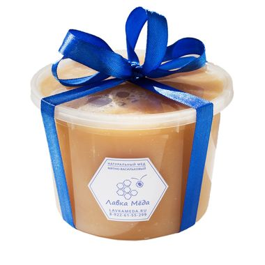 Мятно-васильковый мёд №4, 730г (500мл)