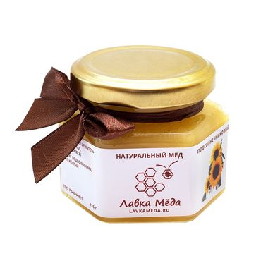 Подсолнечниковый мёд №6, 135г (100мл)